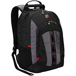 "Wenger SkyScraper 16"" Backpack – Black/Grey - £24.99 With Code @ Robert Dyas - Free Click & Collect"