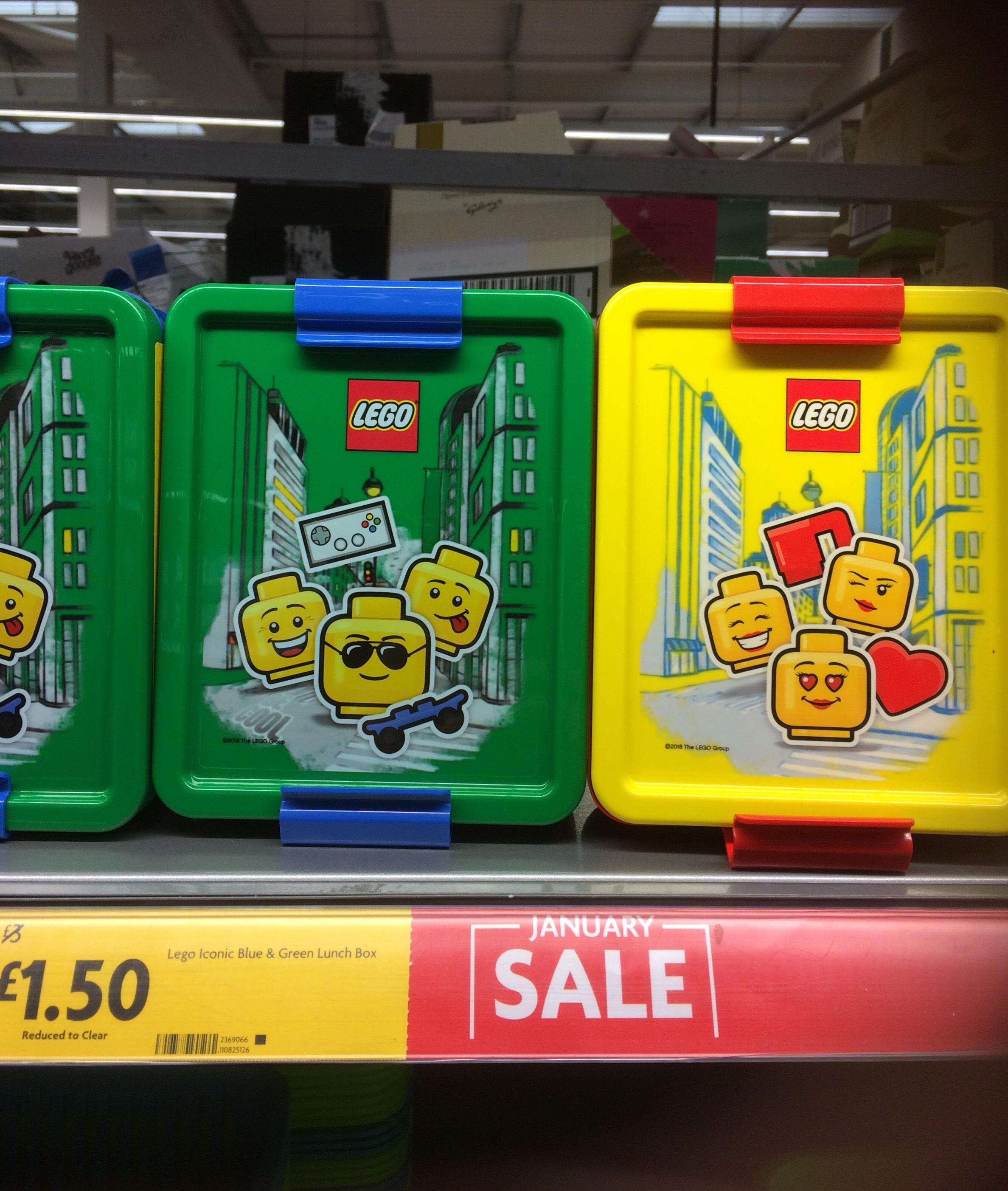 LEGO Iconic Lunch box £ 1.50 instore @ Morrisons Sittingbourne