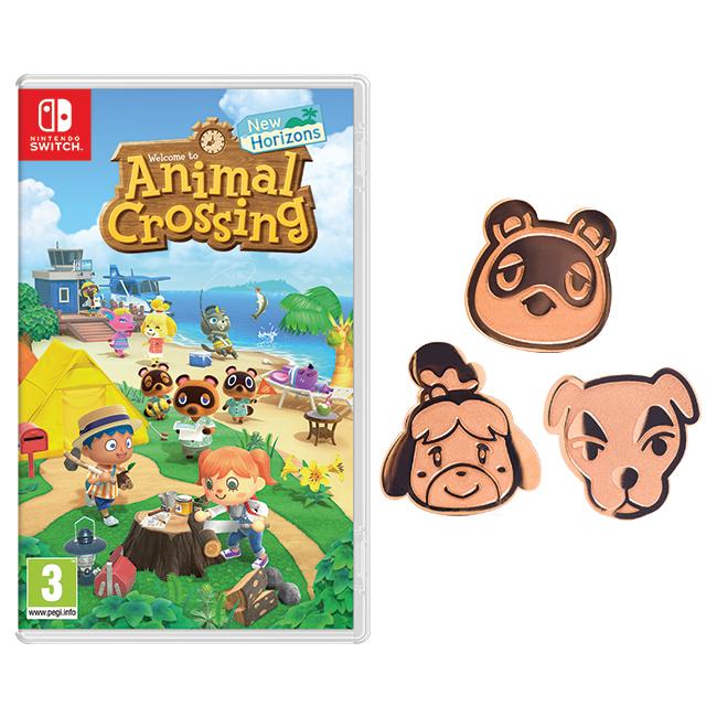 Animal Crossing: New Horizons + Pins Pack - £49.99 @ Nintendo Store