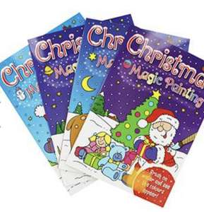 4 x Christmas Magic Painting Books - £2 with code @ The Works - Free Click & Collect
