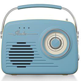 Akai AM/FM Vintage Radio - Black/Taupe/Sage Green/Blue - £13.50 with code - Free C&C at Robert Dyas