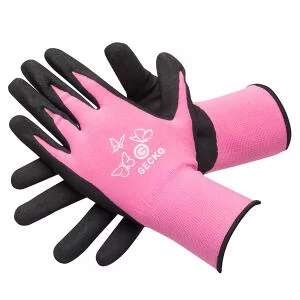 Gecko Pink High Grip Mechanics Gloves - S / M / L sizes 70p with code @ Euro Car Parts (Free Click & Collect)