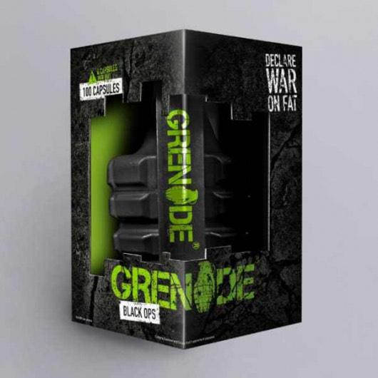 Grenade Black Ops - Buy 100 pack add 44 free - £20.74 @ MuscleFood
