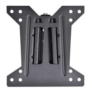 1/2 Price Wall Brackets, Eg Flat Low Profile Bracket £5 (See deal for others) @ Wilko