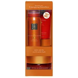 Rituals Happy Buddha Try Me Set £6.80 delivered with code @ Look Fantastic