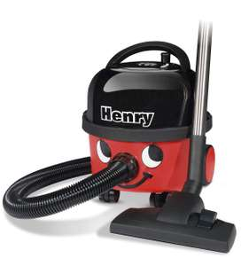 Henry HVR 160-11 Bagged Cylinder Vacuum, 620 W, 6 Litres £91.98 - Amazon