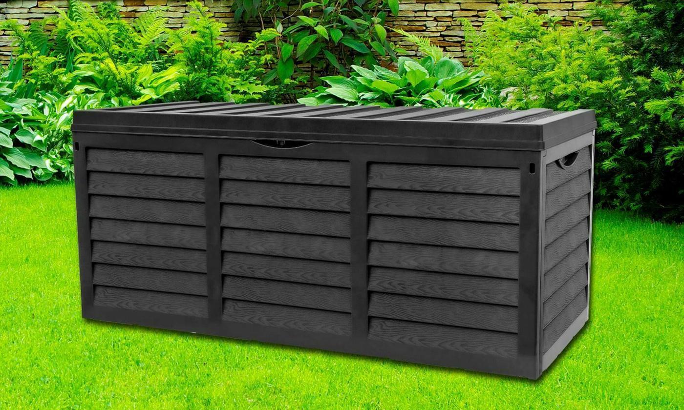 Garden Storage Box with Lid £37.98 delivered @ Groupon [117cm x 54cm x 51cm]