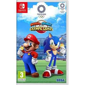 Mario & Sonic At The Olympic Games Tokyo 2020 Nintendo Switch £32.95 Delivered @ TheGameCollection