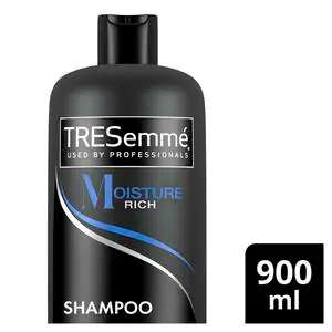 Tresemme 900ml Moisture Rich Shampoo / Conditioner / Cleanse & Renew, Now £2.72 (Other 900ml see deal) + Free Click & Collect @ Superdrug