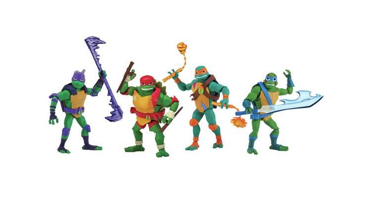 Rise of The Teenage Mutant Ninja Turtles 4 Brothers Pack £25.90 @ Argos