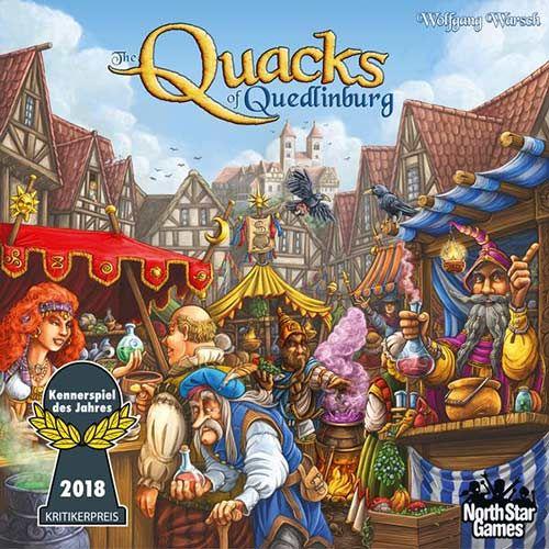 Quacks of quedlinburg Board Game £24.28 (with code) @ Zatu