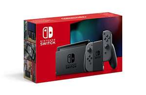 Nintendo Switch Console Grey (Improved Battery) £255 (£247 with Fee Free Card) @ Amazon Italy