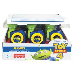 Toy story 4 Alienizer Voice Changer instore at Tesco for £4.50