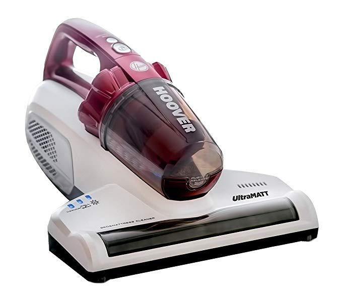 Hoover UltraMATT Handheld UV Mattress Vacuum Cleaner, MBC500UV, Bagless, Powerful, Bed, Hygiene, Allergy, Corded, 500 Watt £29.99 @ Amazon
