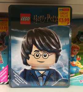 Lego Harry Potter Activity Book Tin £3.99 instore @ Home Bargains
