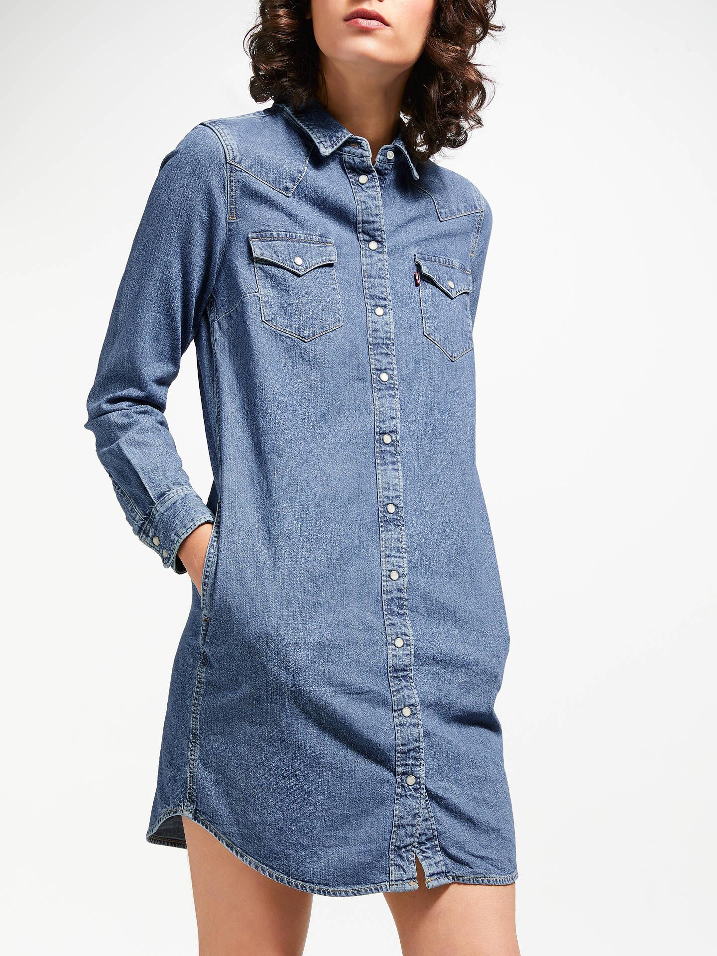 Levi's Womens Iconic Western Long Sleeve Dress @ Amazon for £42.50