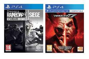 Buy 2 selected games for £22 [PS4/Xbox One] free C&C @ Argos