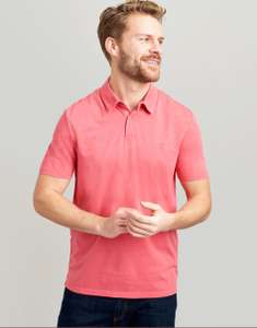 Joules Laundered Pink Polo Shirt £12.55 @ Joules Shop