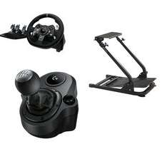 Logitech G920/G29 racing wheel, Shifter Force Driving Controller and Racing Stand for £199.99 @ Argos