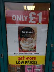 Nescafe Cappuccino 8 sachets for £1 in Poundland INSTORE Nationwide