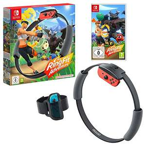 Ring Fit Adventure Nintendo Switch now £55.90 delivered / £53.92 delivered with fee-free card at Amazon France