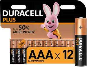 Duracell AAA Pack of 12 Batteries Now £5.99 @ Amazon & FREE Delivery (+£4.49 Non Prime)