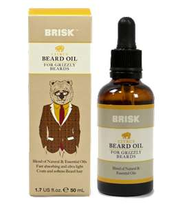 Brisk Tea Tree Beard Oil 50ml - £1 @ Boots
