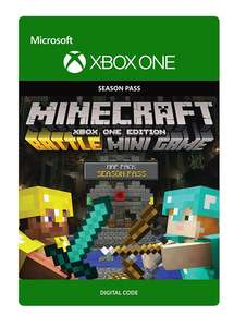 Minecraft: Battle Map Pack Season Pass Card £1 at ShopTo