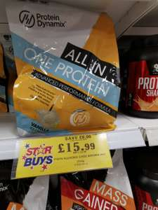 Protein Dynamix 2kg all in one protein £15.99 home bargains