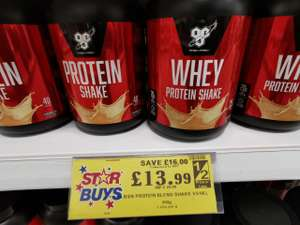Bsn whey protein £13.99 Home bargains