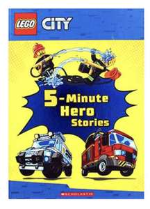 Lego City 5 minute hero stories book £2.80 @ The Works