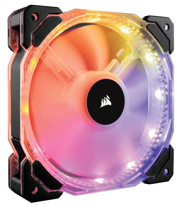 Corsair HD120 RGB LED High Performance 120mm PWM Fan - £14.99 (+3.49 P&P) at eBuyer