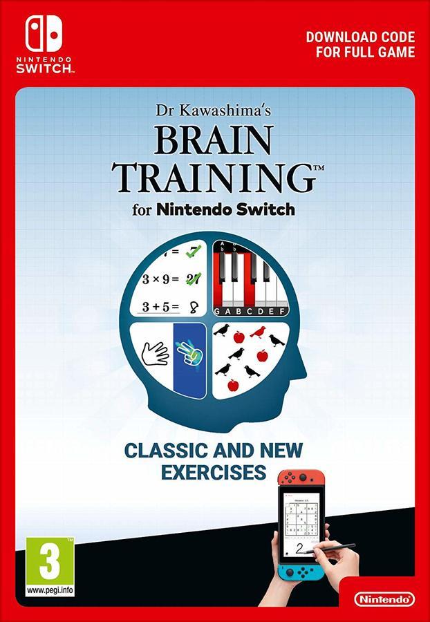 Dr Kawashima's Brain Training SWITCH Download £17.85 @ ShopTo