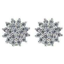 Revere Sterling Silver 1.00ct Look CZ Cluster Stud Earrings - £4.99 @ Argos (Free Click & Collect)