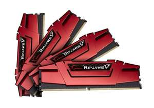 G.SKILL Ripjaws V Series 32GB ( 8GB x4) DDR4 2400 MHz - £79.94 @ Amazon