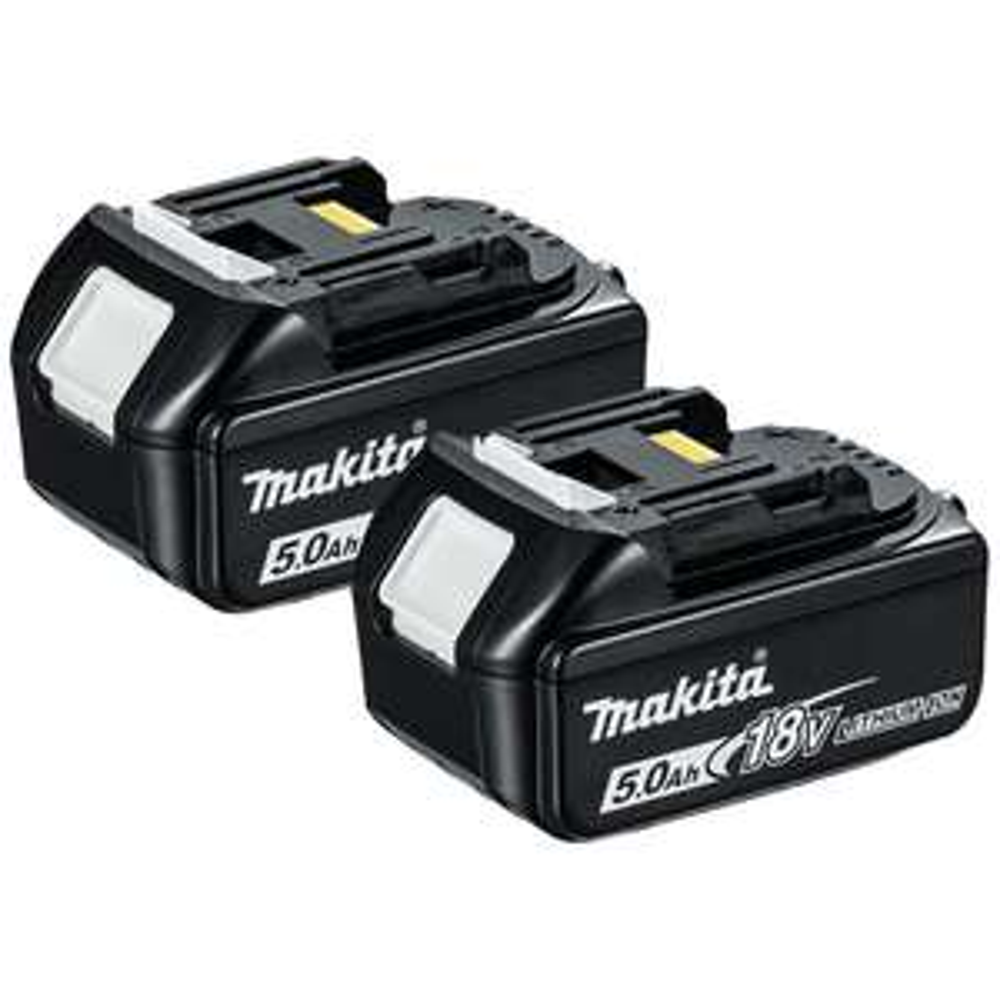 Makita BL1850 BL1850B 18V 5.0Ah Battery Twin Pack for Makita DHP481Z - £43.99 @ Amazon