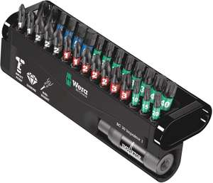 Wera 29 Impact Driver Bits and Magnetic Bit Holder in Case £35.95 @ Amazon with Free Delivery (+£4.49 Non Prime)