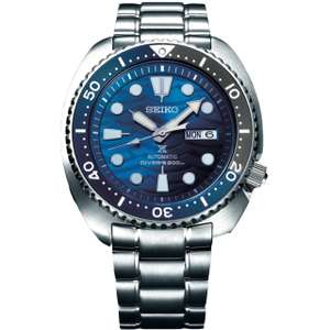"""Seiko Save The Ocean - Prospex """"Turtle"""" Watch - SRPD21K1 - £309.60 with code @ Hillier Jewellers"""