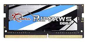 G.SKILL Ripjaws SO-DIMM 16 GB DDR4 2400 MHz Laptop Memory Stick £45.04 at Amazon