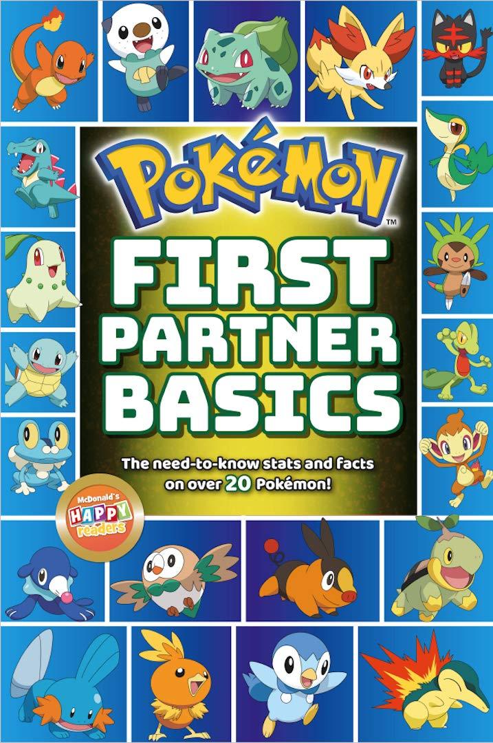 Pokémon First Partner Basics Kindle eBook free @ Amazon