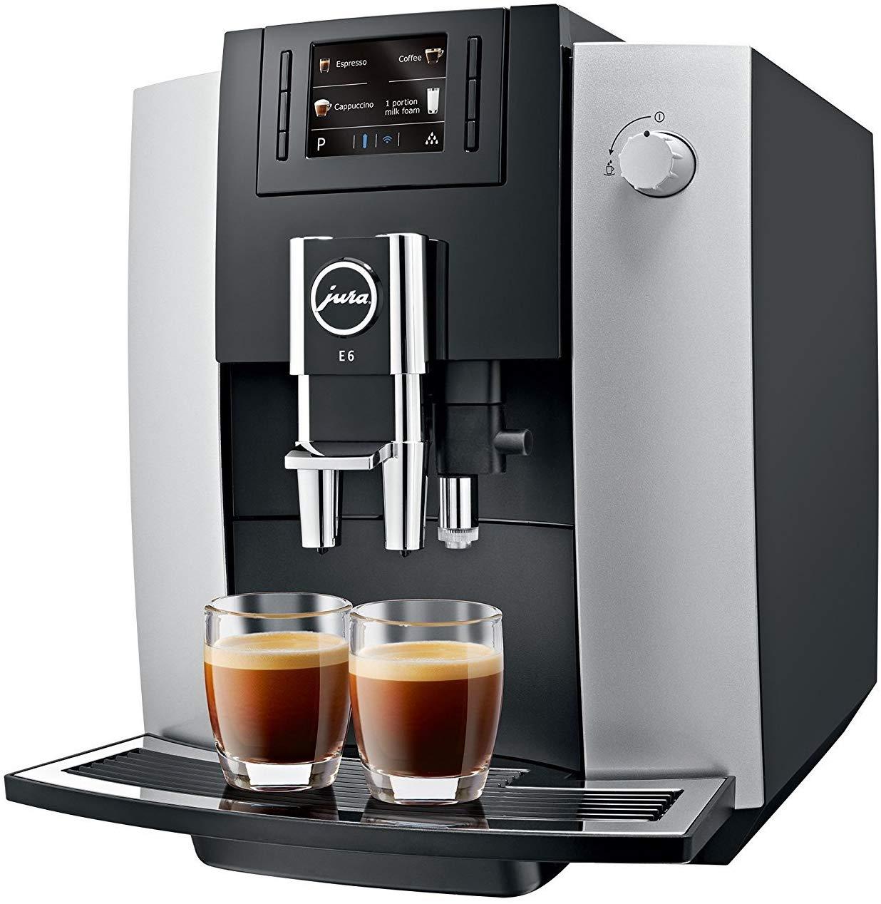 JURA 15079 E6 Coffee Machine, Platinum - £519 @ AO