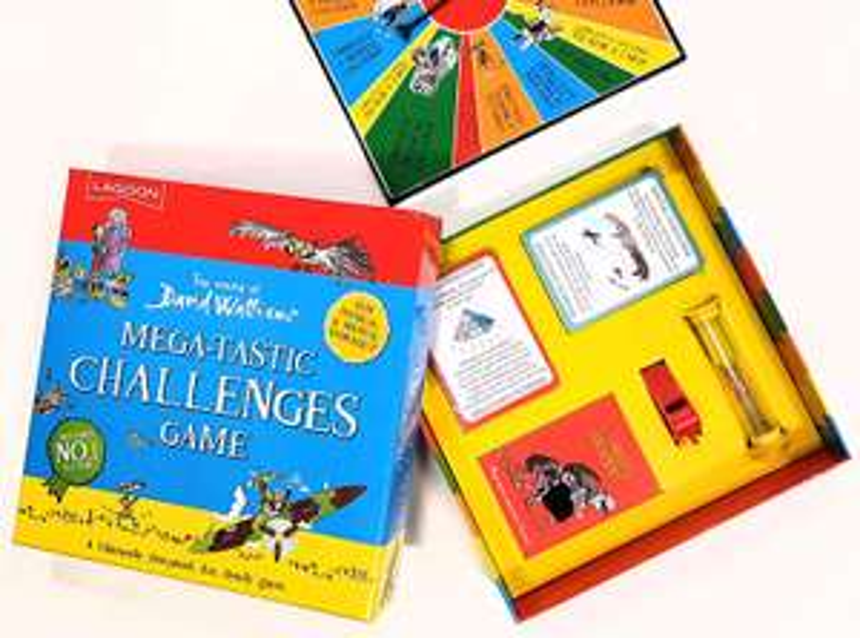 David Walliams Megatastic Challenges Board Game now £9.99 (Prime) + £4.49 (non Prime) at Amazon