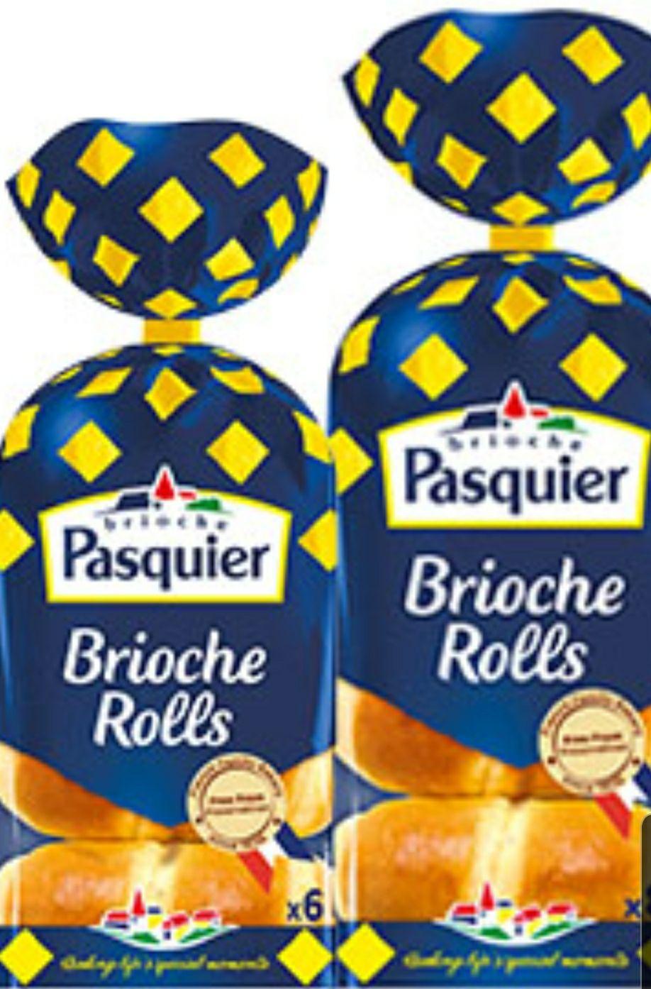 Pasquier Brioche roll 6 pack X 2 (12) @ Heron foods for £1