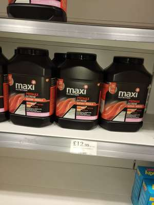Maximuscle Promax Extreme Protein £12.99 @ Oldham, Greater Manchester Home Bargains