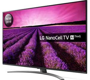 "LG 49SM8200PLA 49"" Smart 4K Ultra HD HDR LED NanoCell TV (2019) + 5 Year Guarantee - £449 Delivered @ Currys PC World"
