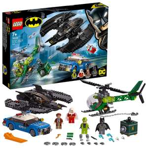 LEGO 76120 DC Batman Batman, Batwing and The Riddler Heist, Super Heroes Toys with Batplane, Police Car and Helicopter £37.49 @ Amazon