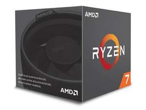 AMD Ryzen 7 2700 3.2GHz 8 Core (Socket AM4) CPU + free game (Borderlands or Outer Worlds) + 3 months Game Pass for £126.53 @ CCLOnline