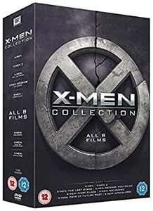 X-Men 8 film collection dvd £4.99@Amazon prime (£2.99 p&p non prime)