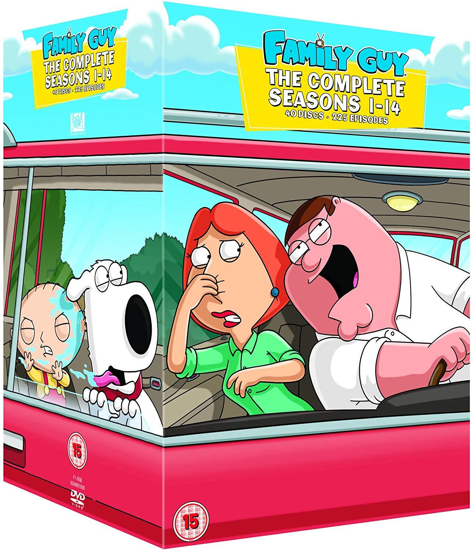 Family Guy - Season 1-14 [DVD] [1999] £16.94 @ Amazon Prime / £19.93 Non Prime