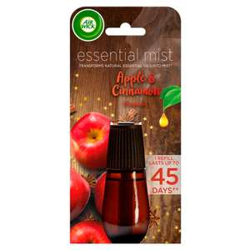 Air Wick Essential Mist Single Refill Apple & Cinnamon £2 @ Wilko